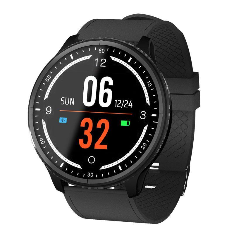 2019 nuovo schermo a colori intelligente reloj frequenza cardiaca intelligente orologio uomo donna orologio sportivo impermeabile orologio Bluetooth promemoria intelligente