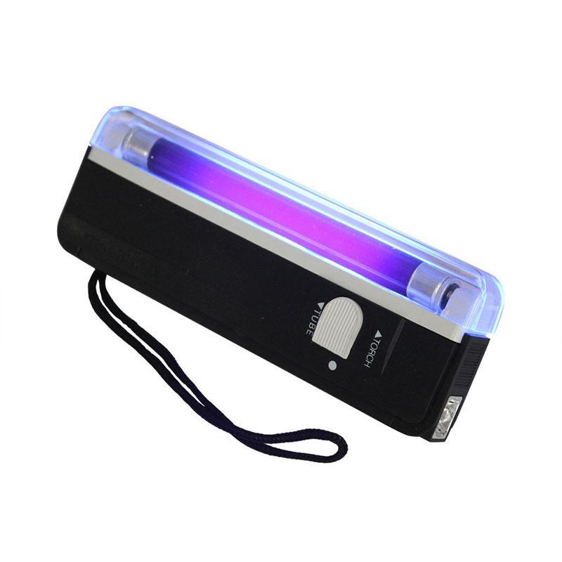 BRELONG UV UV 블랙 라이트 손전등 휴대용 LED 손전등 미니 휴대용 작업 조명 제품 식별 램프 블랙