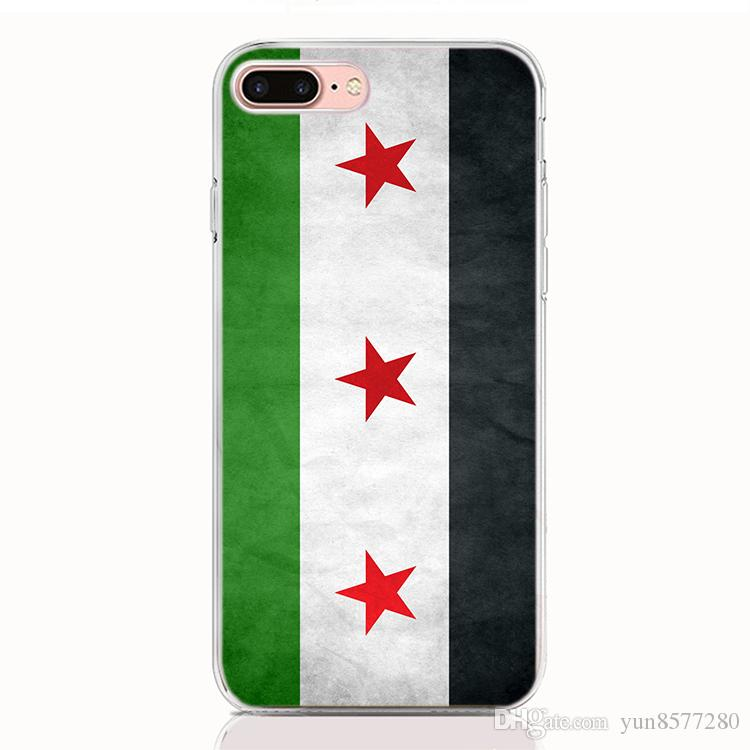 For iPhone XS XR XS Max X 7 8 Plus case Print pattern National flag High quality phone cases