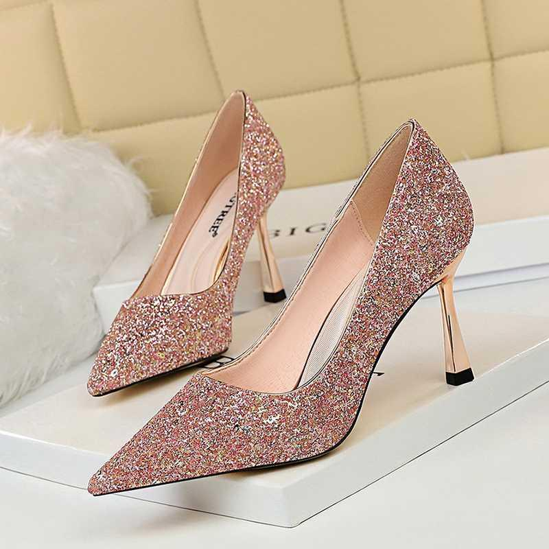 2020 Shoes New Women Pumps Sexy High