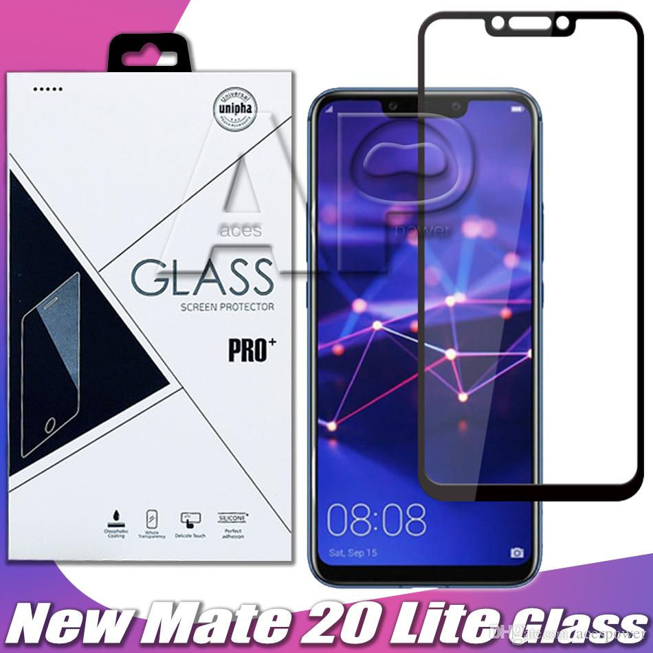 Tempered Glass For Iphone 12 Mini 11 Pro Max XR XS MAX X Full Cover Black Protector With Package