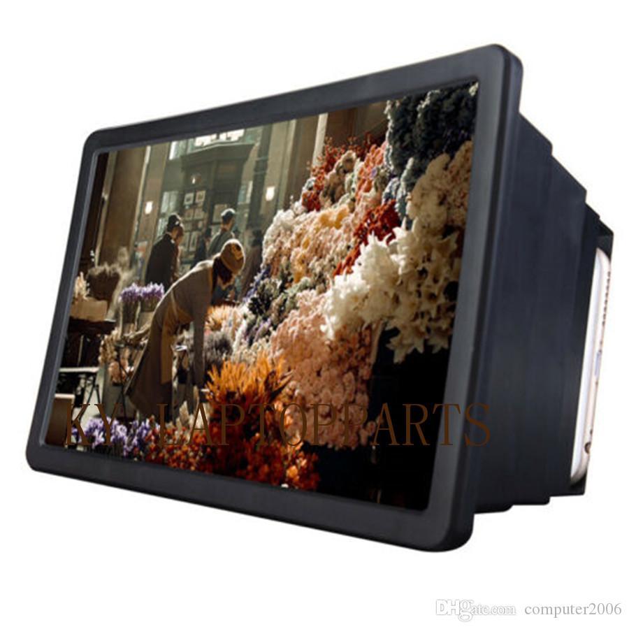 للطي شاشة الهاتف المحمول المكبر 3D HD شاشة مكبر للصوت حامل القوس الجديد