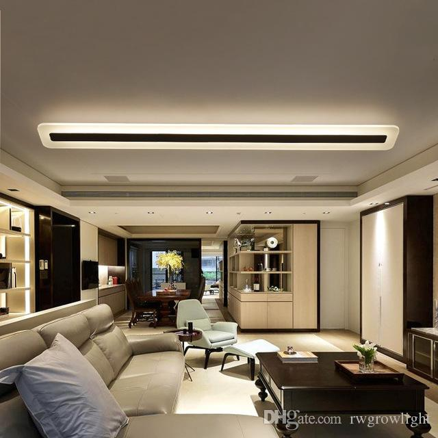 Luces de techo del pasillo del pasillo de la lámpara del techo del LED moderno simple para los accesorios de iluminación creativos del restaurante de la sala de estar del bar - RW07