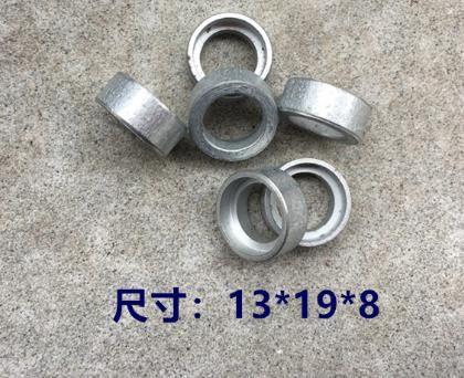 13 * 19 * 8 milímetros Heavy-Duty Square-Cabeça de martelo eléctrico Tendo Bevel Gear Anel Distância discos máquina de lavar Acessórios Ferramenta de potência Anel de Ferro