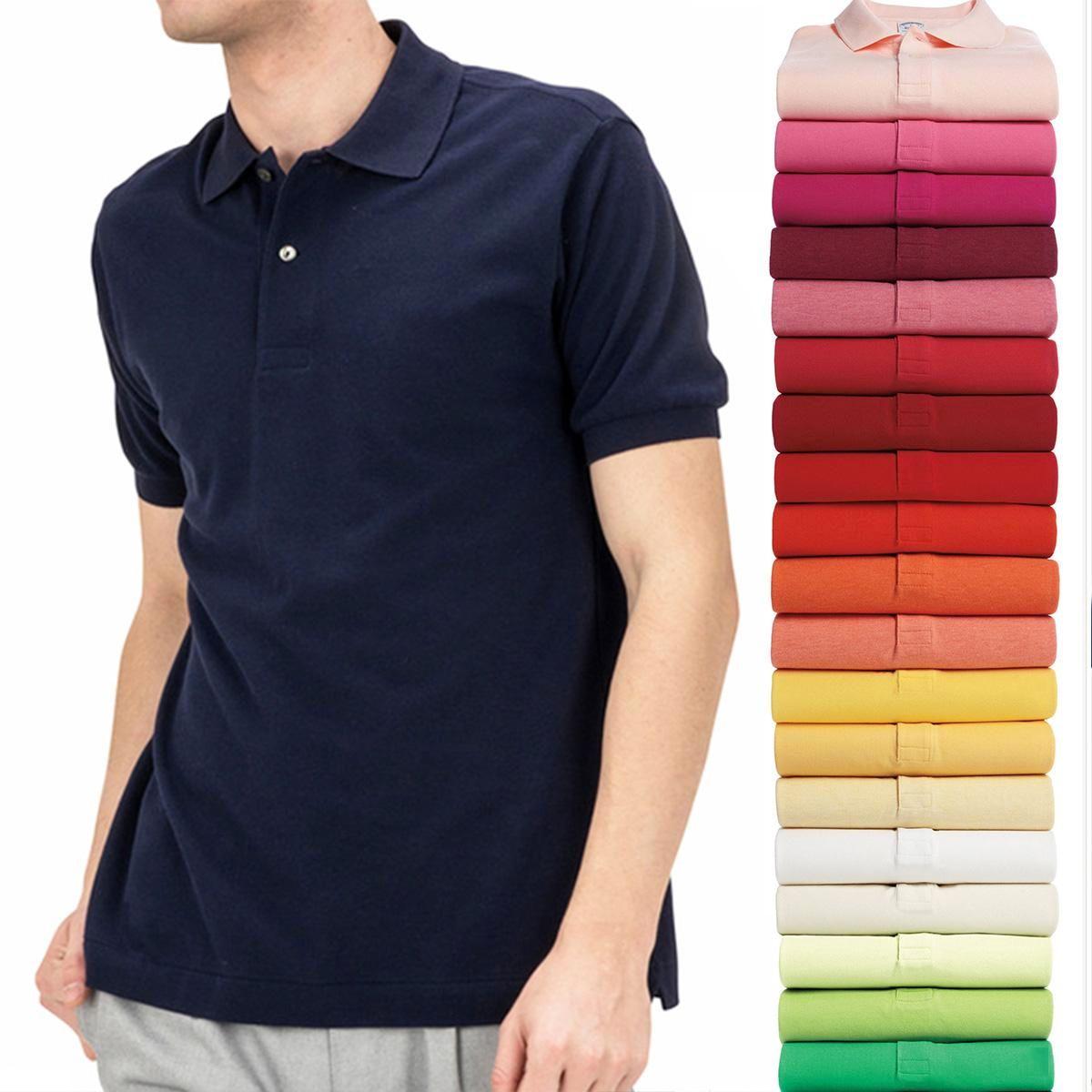 men polos summer designer t shirts for men Brand men fabric letter polo t-shirt collar casual t-shirt tee shirt tops polo brand