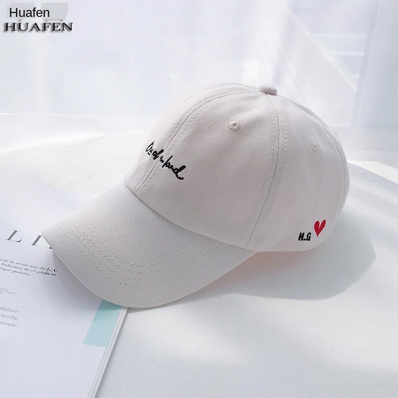 . Chapeau lettre broderie 2020 baseball couple de casquette de baseball étudiant hommes casquette de femmes de la mode