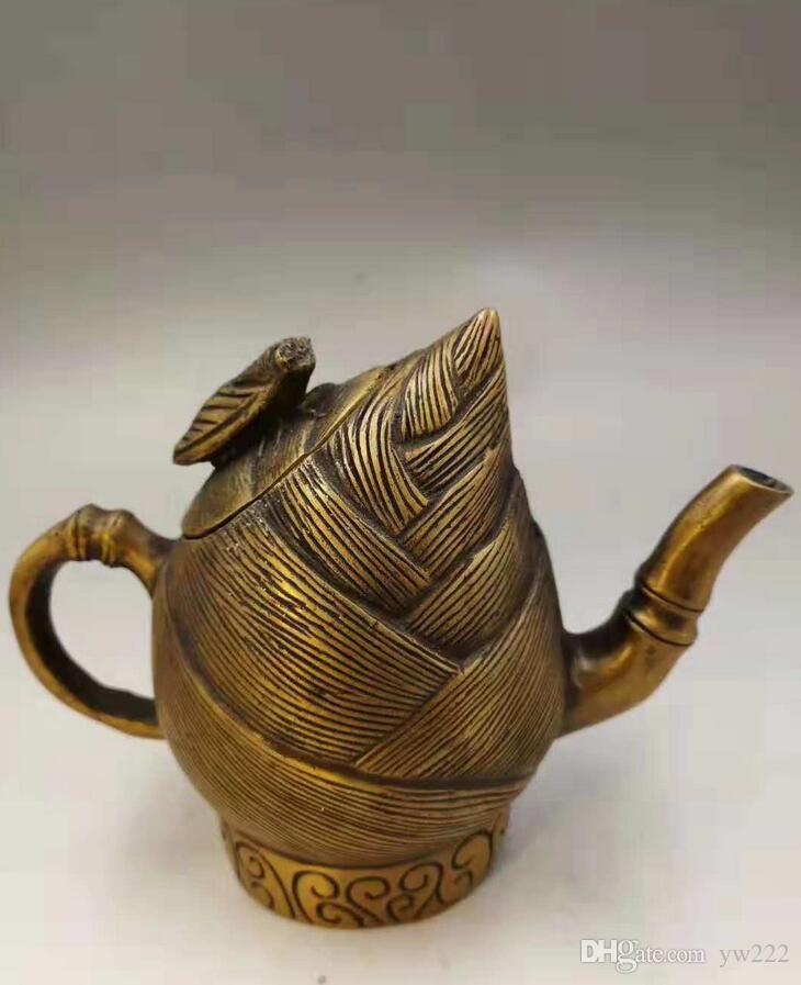 Духовой чайник украшение ремесел украшения чайника чистой медь завод прямые продажи дом гостиная