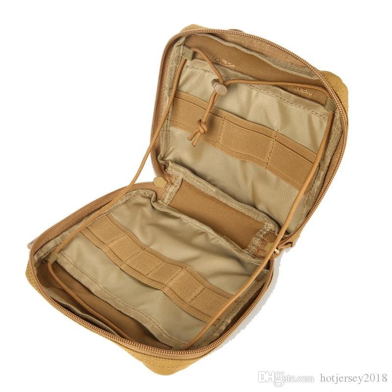 Chasse Multifonction Sac Bullet Sac Munitions Durable Molle Utilitaire Holder Pouch Sacs Shell Sport Et Green 1pc Ext/érieure