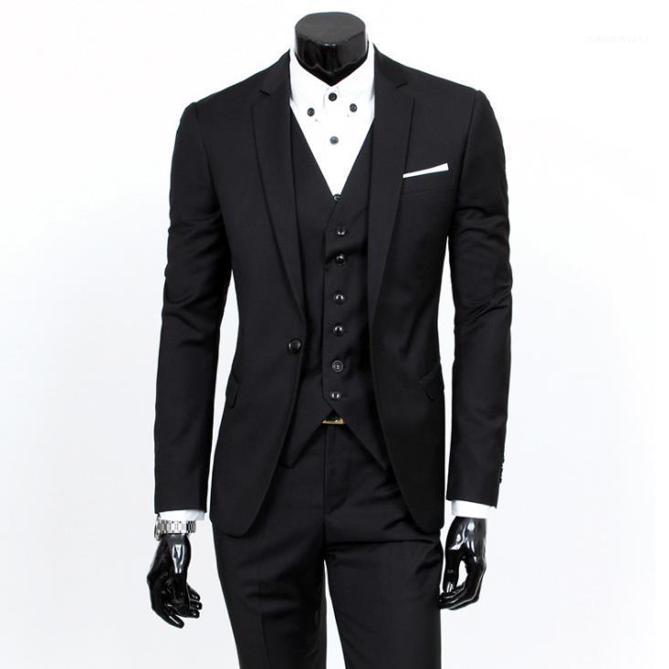 Hochzeit Dreiteiliger Anzug Geschäfts-Fachmann-Kleid-Mode-Männer Designer-Anzüge Set Best Men und Bräutigam