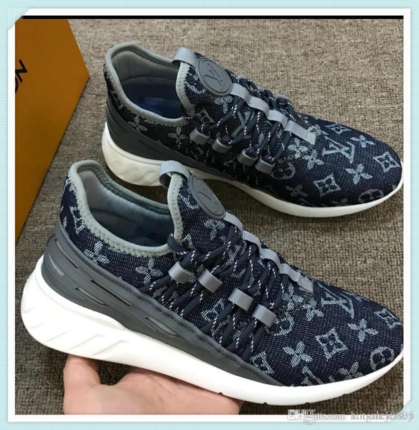 2019 New Mens Shoes Sneakers High Quality Casual Men Shoes Casual Fashion Sneakers Chaussures Mens Luxury Fast Ship