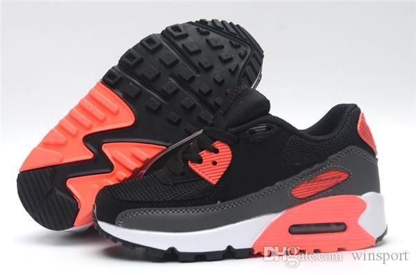 Großhandel NIKE AIR MAX Shoes 2019 Kinder Sneakers Presto 90