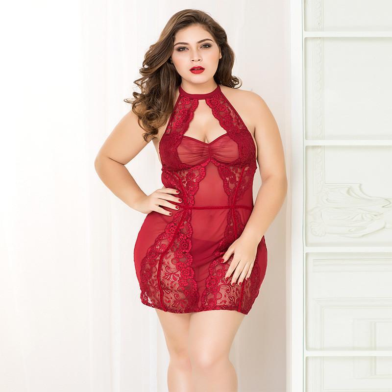 2020 Women Sexy Lingerie Babydoll Plus Size Hot Erotic