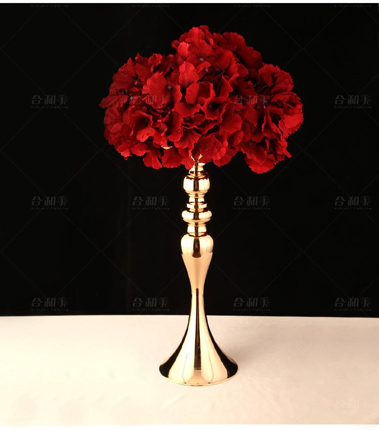 35cm Tall Metal Flower Vases Table Centerpiece Wedding Decoration Tall Vases For Centerpieces Tall Vases For Cheap From Fugao001 195 07 Dhgate Com