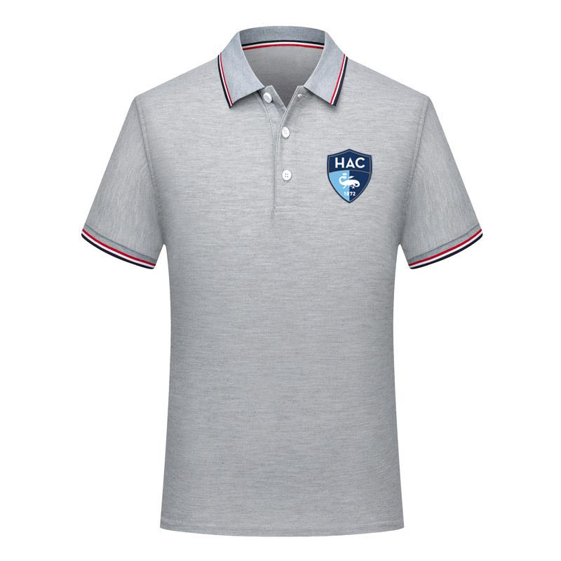 2020 Ligue 2 le havre Polo gömlek futbol formaları Futbol Polos Moda Trend Futbol Gömlek Kısa Kollu polo futbol Polos Hayranları Tops