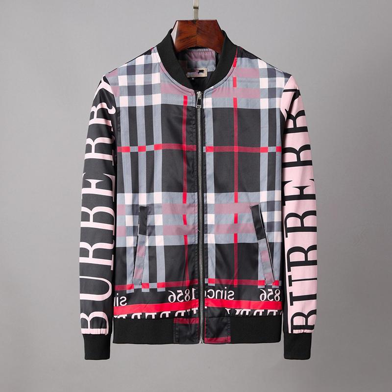 Mens Designer Jacket Mode Vestes Zipper Pull Manteau Hommes Fashion Designer Casual Jacket Haute Qualité-vêtement