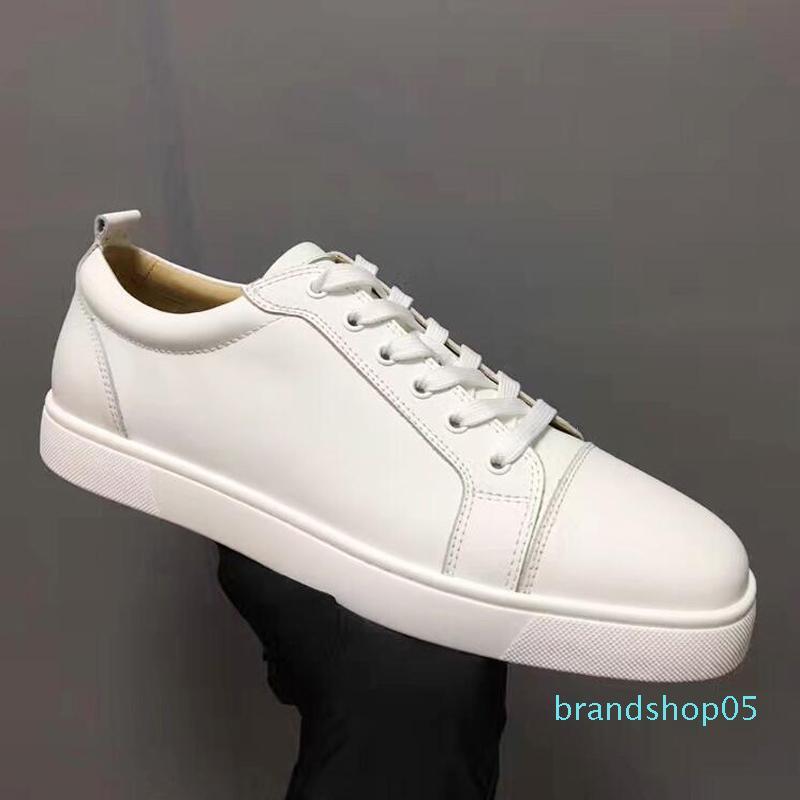 Mens Sneakers Designer Designer Shoes low cut Spikes pattini degli appartamenti inferiori rossi per la Mens e donne rivestono di pelle scarpe da tennis del partito scarpe Designer