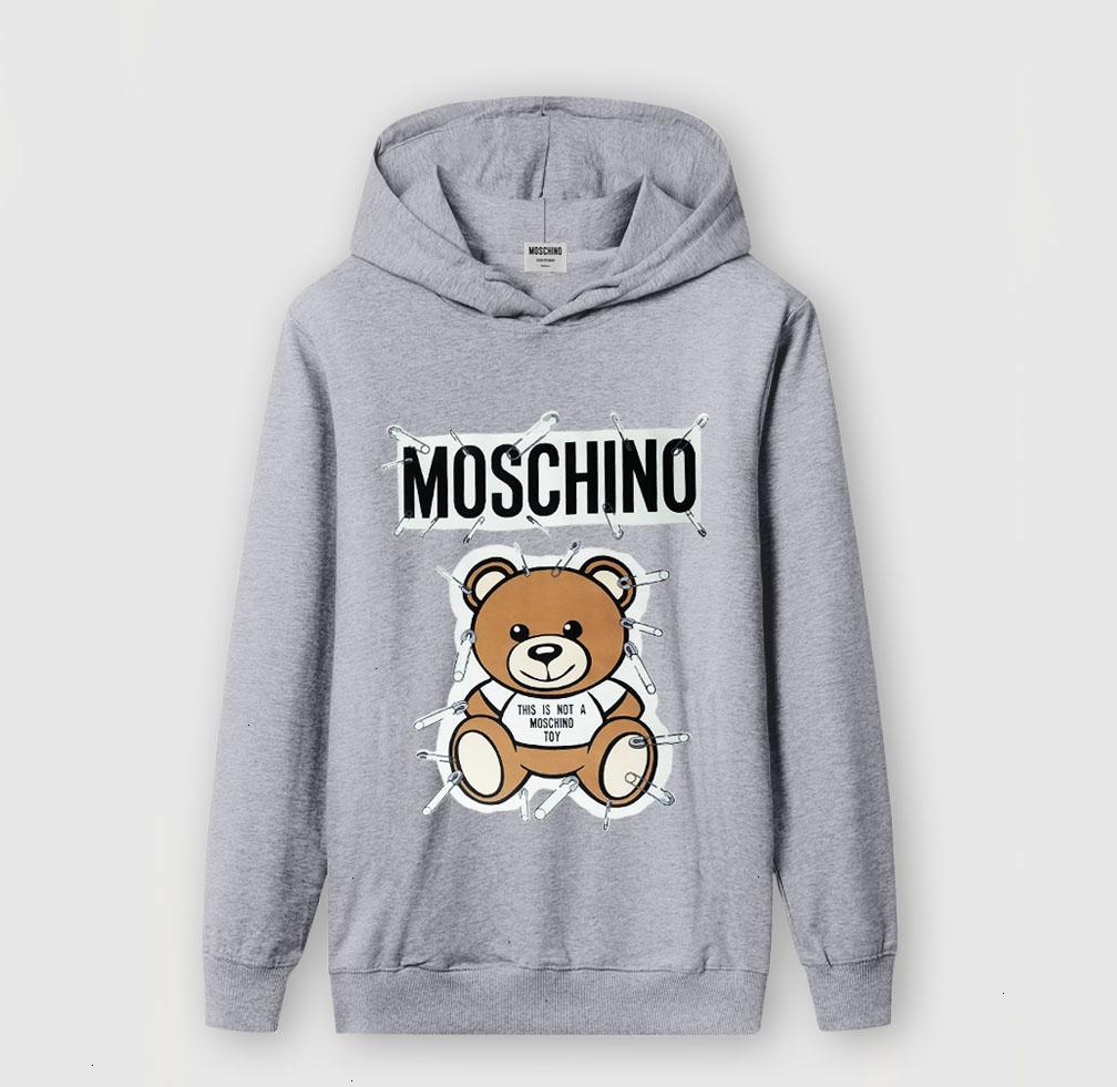 Hommes pour chandails Vêtements de créateur pour homme 2019 automne et hiver broderie ours jeune occasionnel Pull à capuche chaud avec col rond