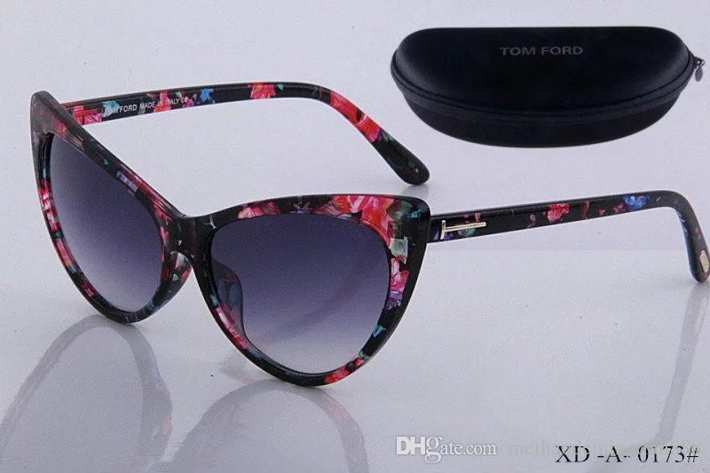 Линзы Лучшие очки Солнцезащитные очки Мода Новое Солнце Том Человек Женщина Очки Новый Дизайнер качества Бренда с Ford Box 520 SHGMS