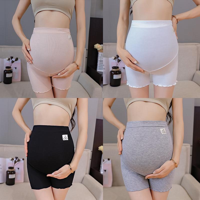 8047 Thin 310 Maternité Hot Legging été haute taille du ventre Shorts de sécurité Pantalons bébé Vêtements enfants Pantalons Vêtements pour femmes enceintes Pregan