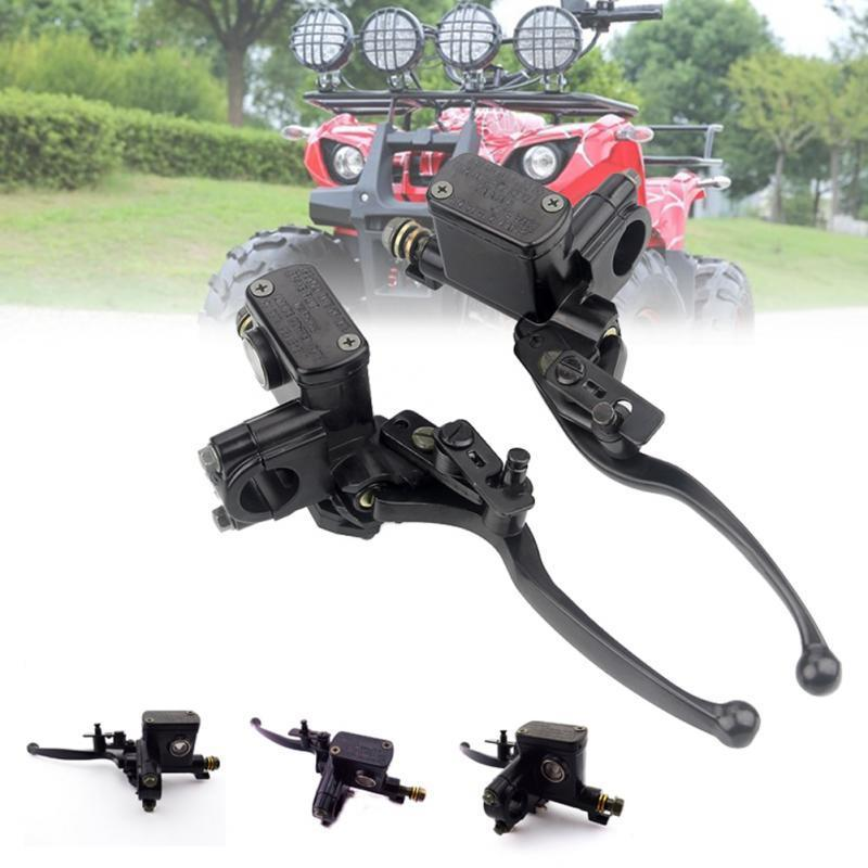 Brake Lever Quad Moped Cylinder Hydraulic Scooter Motorcycle 50 -250cc Buggy Accessories Clutch Pump Handle Front Universal