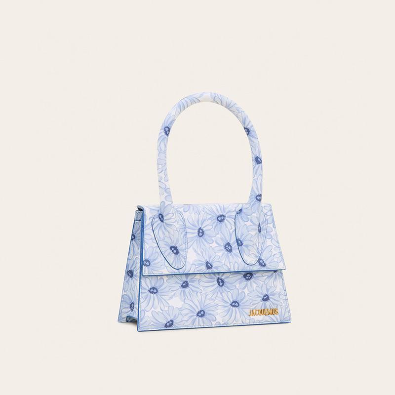 Vendita diretta della fabbrica Donne Borse Piccolo MINI 2020 Bag Blue Flower Nuova Lettered Bag Le Grand Chiquito spalla borsa