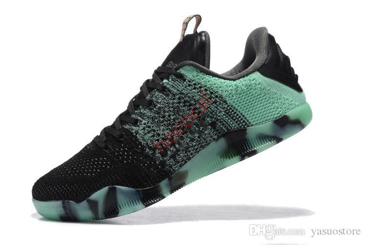 Toptan Yeni 11'ler Elite Düşük Mens Altın Black Mamba Oreo Basketbol Ayakkabı Erkek İçin Erkekler Eğitmenler hococal Tasarımcı Chaussures Zapatos Sneakers