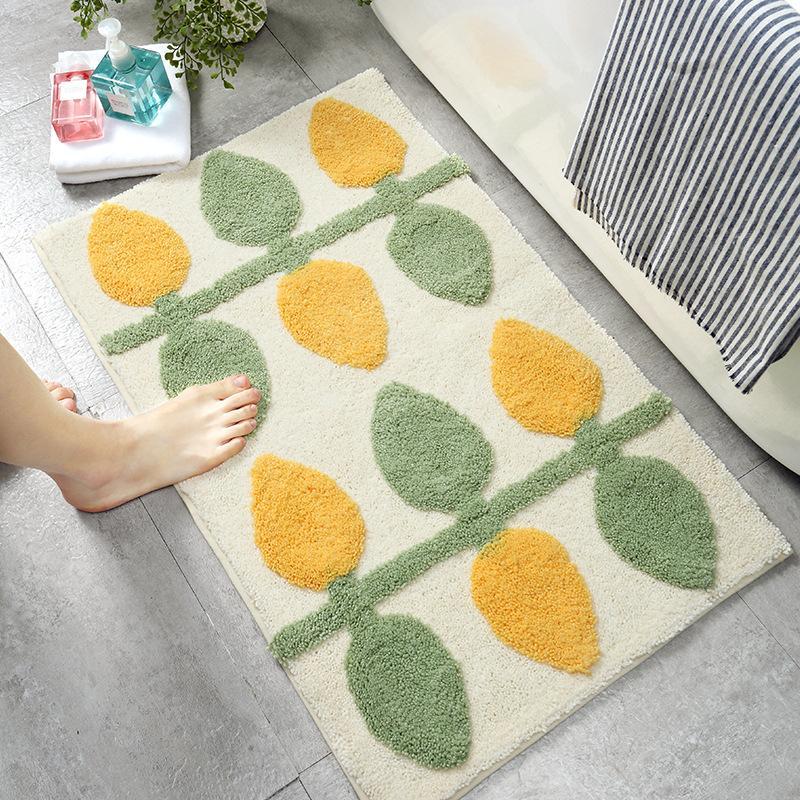 Прямоугольные Flocking спальня гостиная ковровое покрытие коврики просто бытовая кухня ванная комната дверь поглотитель тепла коврики, Размер: 100x150 см
