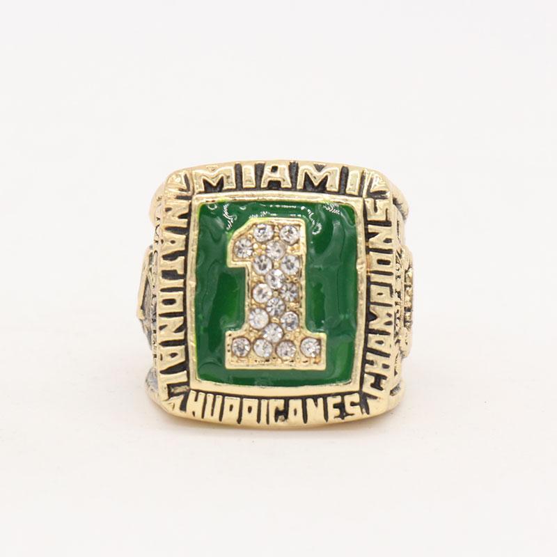 1989 Miami Hurricanes Ulusal Şampiyonası Yüzük