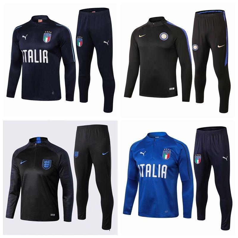 19 20 Flamengo Mexico Italy Sao paulo Palmeiras Soccer tracksuit Football jacket kit Training suit sweater tracksuit Training suit #785156