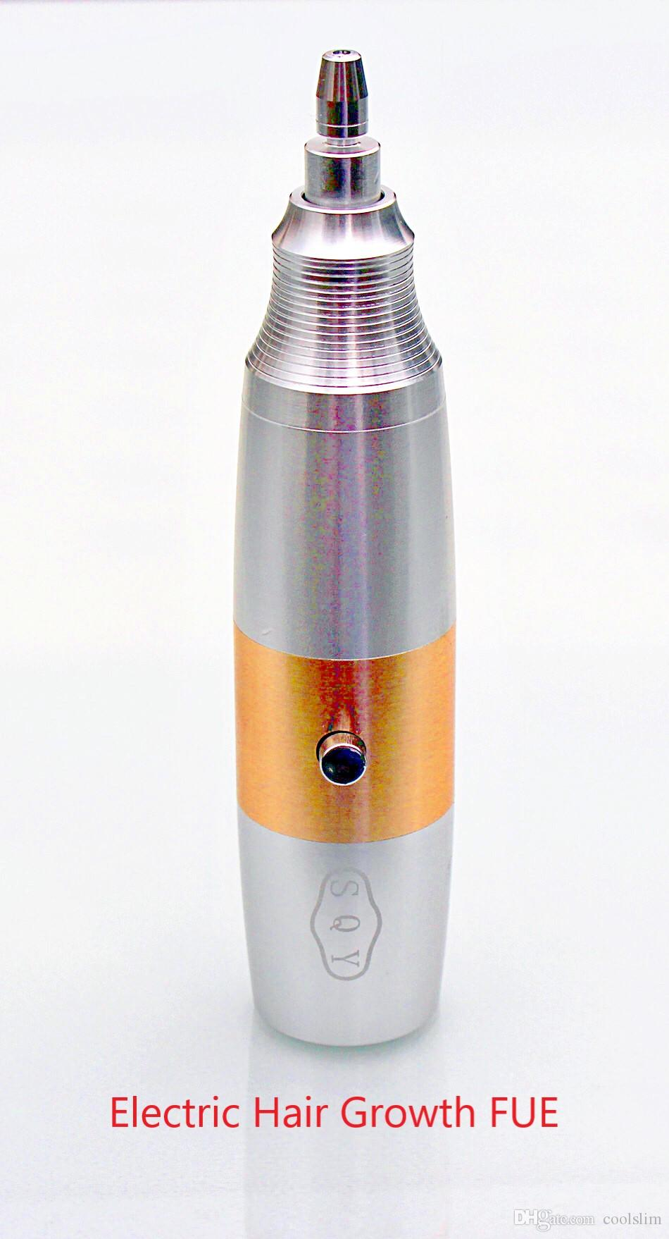 Instrumentos de transplante de fusíveis de crescimento de cabelo elétrico e máquina de flue para cirurgia de transplantão de cabelo Spa de salão de beleza