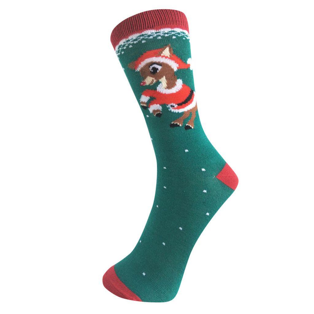 Women's winter Socks Japanese Cotton Colorful Snowman Cute Funny Happy kawaii Skull Alien Avocado Socks for Girl Christmas Gift