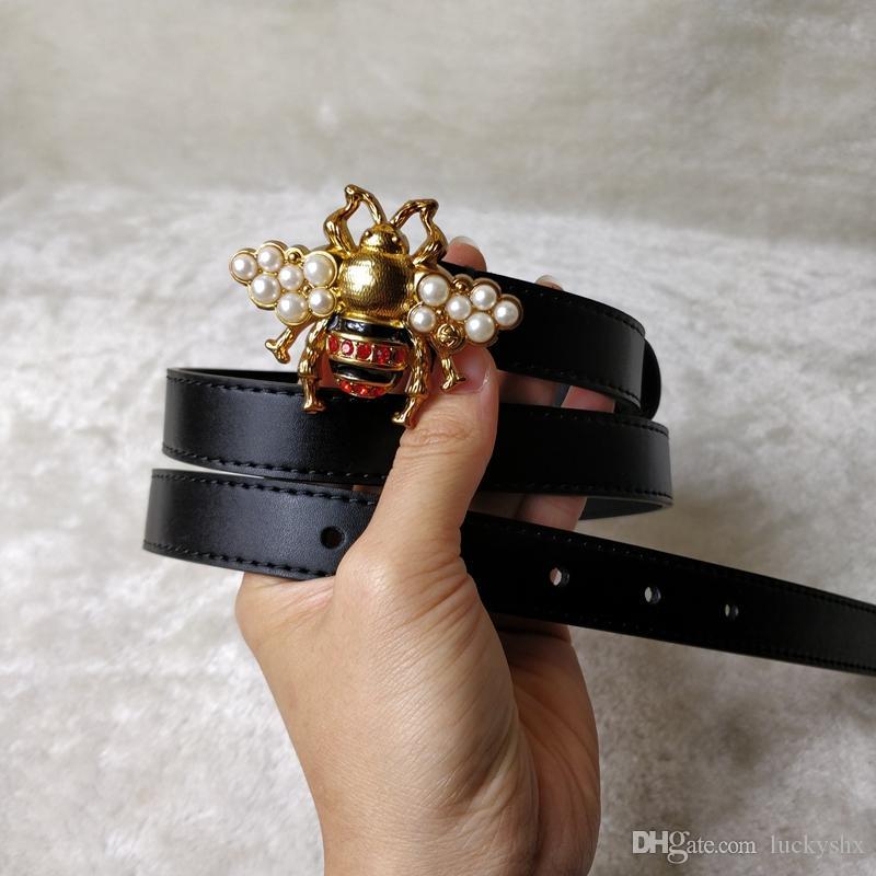 2019 cinghia di cuoio del progettista delle cinghie del cuoio genuino alta qualità nuova cinghia di lusso libera il trasporto 2.0cm