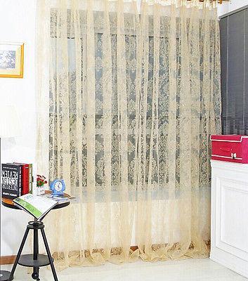 tenda di finestra della moda Moda di screening pannello tenda pura qualità del prodotto finito 100 * 200CM