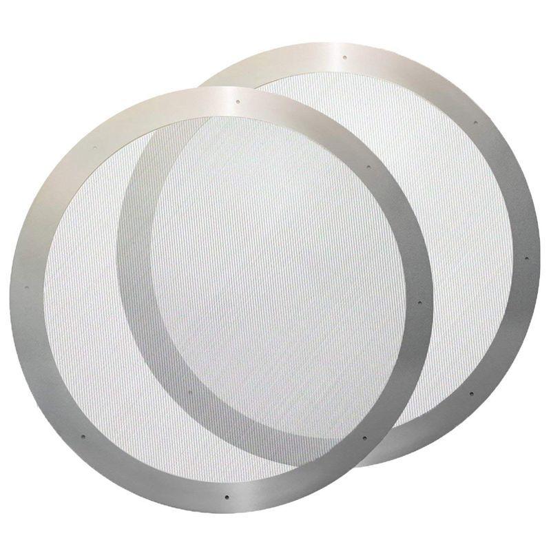 2 Coffee metal Filter - Filtro de aço inoxidável reutilizável para Aeropress Chá