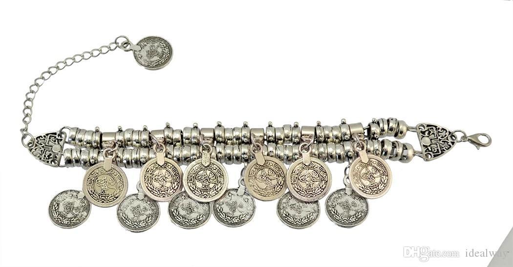 بوهو الغجر بيتشي العرقية القبلية مجوهرات مهرجان التركية البوهيمي سوار خلخال