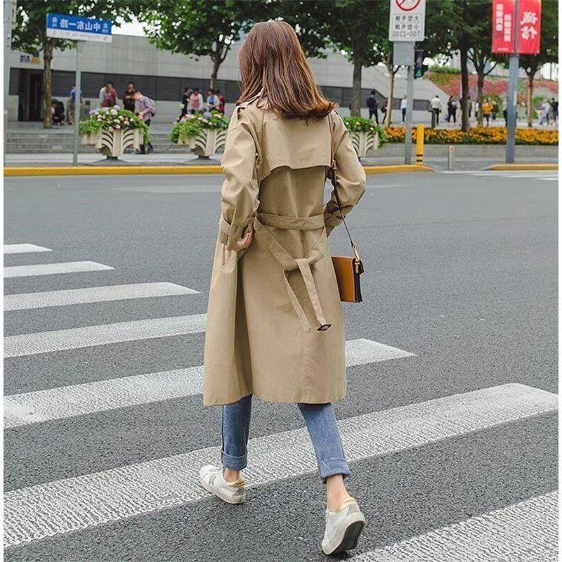 Fashion Windbreakers Manteau Long Femme Hiver Trench Autumn Coat Female For Parka Women Moda Mujer Plus Size Spring Cloak Bur