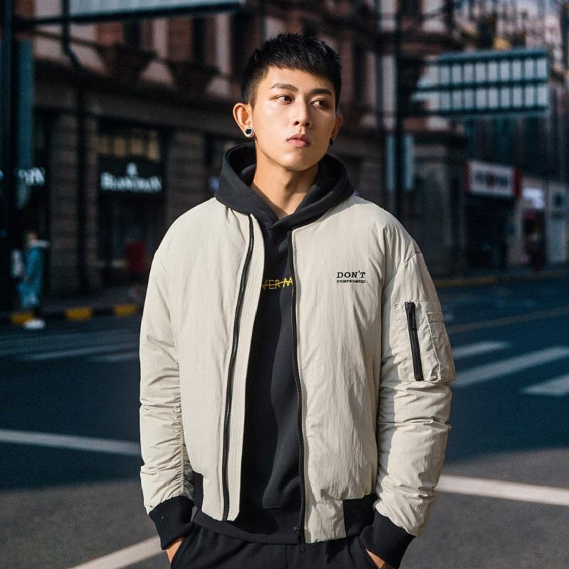 NO.1 DARA Men's Ultralight Mens Duck Down Jackets 2018 New Arrival Spring Autumn Slim Fit Short Solid Color Casual Down Coat