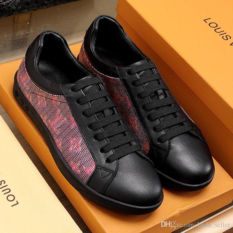 Zapatos nueva llegada de Luxemburgo la zapatilla de deporte de los hombres de moda de la vendimia Diseño zapatillas cómodas primavera y el verano-top zapatos de los hombres ocasionales con cordones