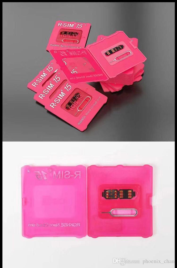 R-sim15 Desbloqueio do cartão Rsim 15 Desbloqueio do cartão iPhone11promax 11Pro XS X iPhone8 iPhone7 7 mais e iPhone6 desbloqueado iOS13 cartão desbloqueio