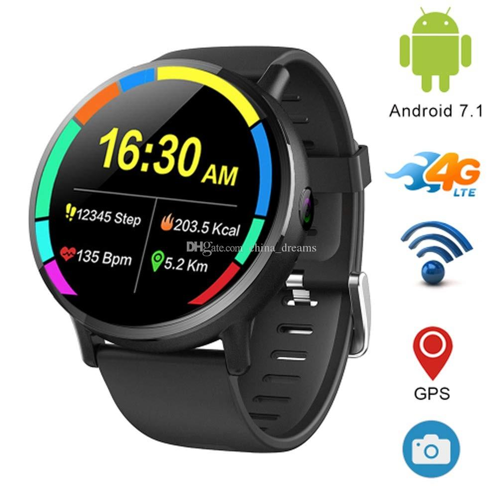 Android 7.1 4G LTE 2.03 Screen Smart Watches DM19 1GB + 16GB، 8MP Camera، Multi Sport Mode Smartwatch Phone for Men Women