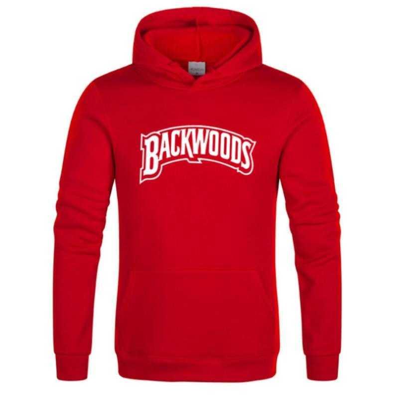 Марка Screw Thread манжета Толстовки Streetwear Backwoods Толстовка Толстовка Мужчины Мода Осень Зима Hip Hop Толстовка пуловер Hoody