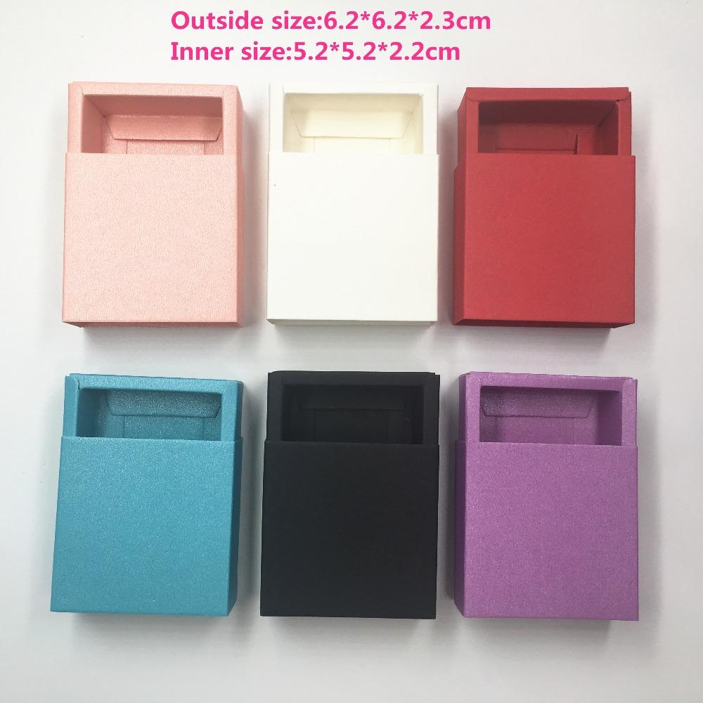 10 pcs Kraft Paper Drawer Type Craft Gift Box Multi color Jewelry Handmade Soap Packaging Boxes For Wedding Party Candy