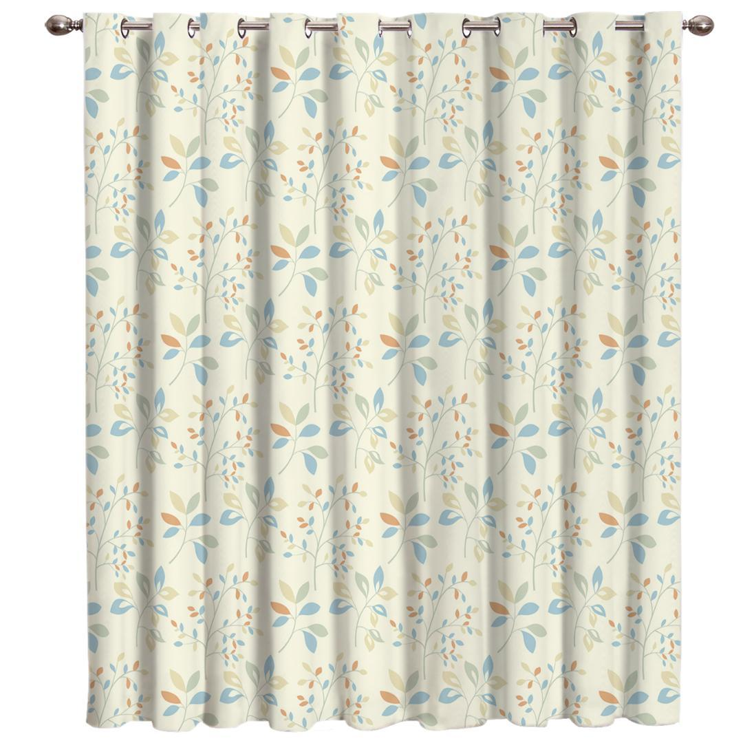 2019 Lovely Plants Room Curtains Large Window Curtain Rod Living Room Outdoor Indoor Decor Kids Swag Window Curtain Panels From Stunning88 31 34