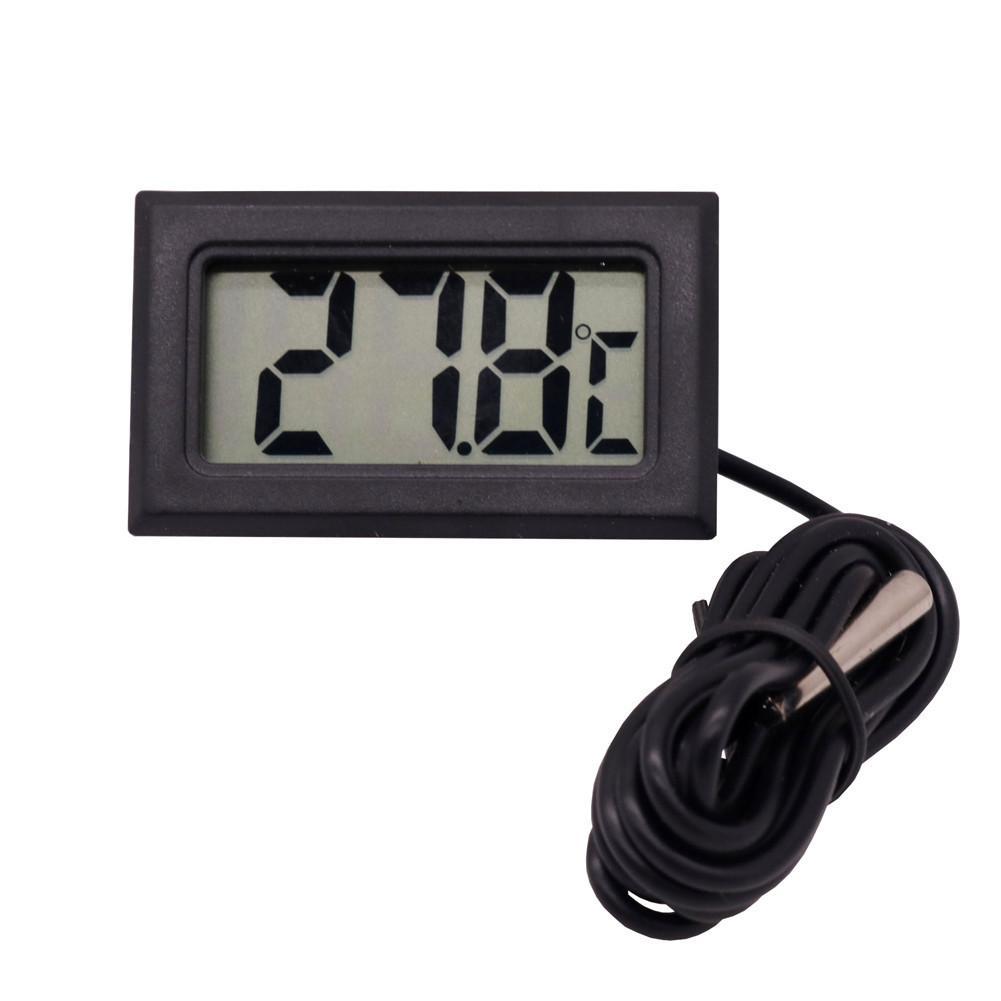 1 Pz 1.5V elettronico termometro digitale Meno 50 gradi Celsius - 110 gradi Celsius mangiatoia per animali domestici acquario a casa No Batteria
