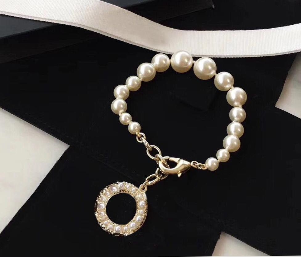 marca de moda designer pulseiras 100º aniversário para amantes do casamento Design Festa mulheres senhora presente da jóia de luxo para a noiva com caixa.