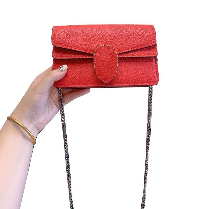 Famoso marchio fashion designer di lusso di alta qualità delle donne del sacchetto sacchetti di spalla delle signore messaggero mini cross body di vendita calda borsa di cuoio di Genuin