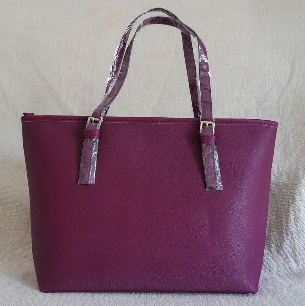 Mode-Handgeldbeutel Totes-große Kapazitäts-Damen einfache Einkaufen-Handtasche PU-Leder Schultertasche
