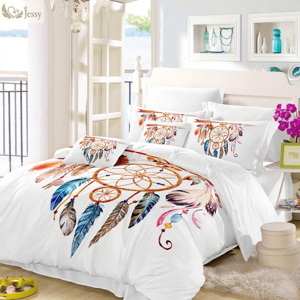 Renkli Tüy Uyku Seti Yapraklar Şekli Nevresim Takımları Nevresim Seti Yastık İkiz Tam Kraliçe Kral Yorgan Kapak Kapaklar