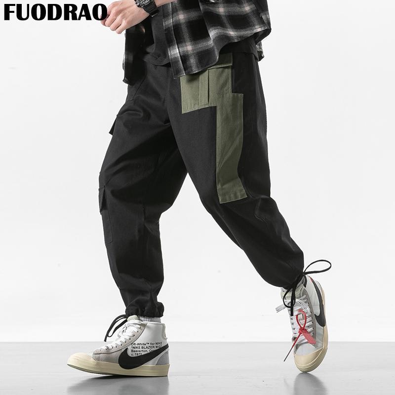 2018 sneakers best website official site 2019 FUODRAO Joggers Pants Men Streetwear Hip Hop Sweatpants Casual  Pantalon Homme Cargo Pants Japanese Harem K175 From Modleline, $50.95    DHgate.Com