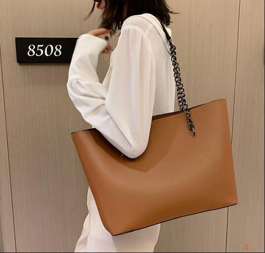 Дизайнер женщин большой емкости сумки роскошные Леди новый Винтаж сумка простой простой сумки на ремне мода цепи сумки PH-RG2021905